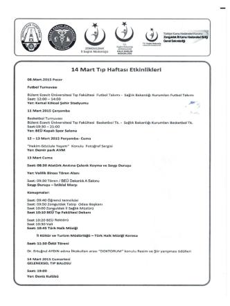 14 Mart - Bülent Ecevit Üniversitesi