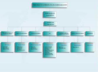 Daire Başkanlığı Organizasyon Şeması