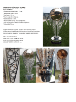 Kupa, Madalya ve Plaket Detayları