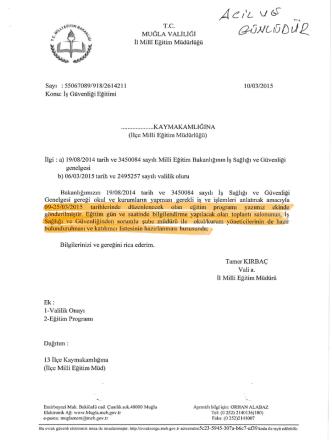 ÄC/Z Vßç M - Marmaris İlçe Milli Eğitim Müdürlüğü