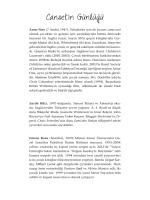 Canset`in Günlüğü - Yapı Kredi Kültür Sanat Yayıncılık