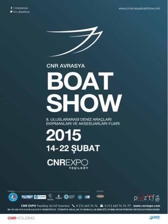 cnr avrasya boat show 2015
