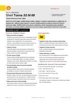 Page 1 Teknik Bilgi Formu Eski İsmi : Shell Tonna S Shell Tonna S3