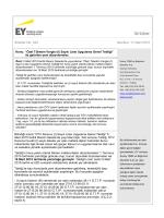 Özel Tüketim Vergisi (I) Sayılı Liste Uygulama Genel Tebliği