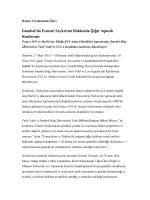 İstanbul`da Ermeni Soykırımı Hakkında Çığır Açacak