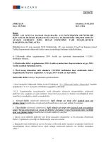 Mart Ayı Sonuna Kadar 2014/Aralık Ayı Elektronik