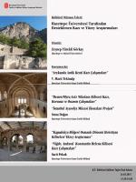 HÜTKAM `Kültürel Mirasın İzleri: Hacettepe