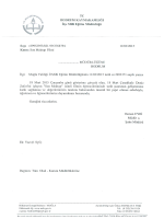 Son Mektup Filmi - Bodrum İlçe Milli Eğitim Müdürlüğü