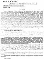 Yüksek Seçim Kurulunun 13/3/2015 Tarihli ve 334