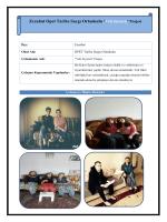 Veli Ziyareti Projesi - Çanakkale İl Milli Eğitim Müdürlüğü