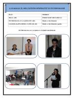 Müzik ve Şiir Dinletisi Projesi - Çanakkale İl Milli Eğitim Müdürlüğü