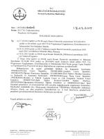 Onay yazısı - Milli Eğitim Bakanlığı