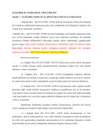 gösterir belge yada yetkili elektrik tesisatçısının (elektrikle ilgili fen