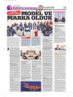 Rektörümüz Prof. Dr. İhsan GÜNAYDIN`ın Türkiye Gazetesine