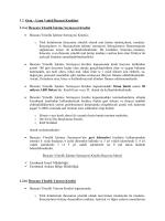 1.2. Orta – Uzun Vadeli İhracat Kredileri 1.2.a) İhracata Yönelik