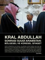 KRAL ABDULLAH - Derin Strateji