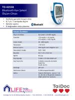 TD-4255B Glukometre
