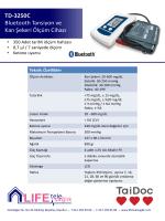 TD-3250C Glukometre ve Tansiyon