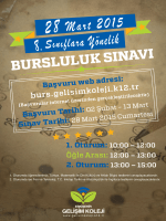 Başvuru Tarihi - Eskişehir Gelişim Koleji