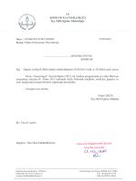 Faaliyet Duyurusu (Oryantring) - Bodrum İlçe Milli Eğitim Müdürlüğü