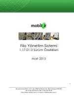 Araç Takip Sistemleri - Filo Yönetim Sistemi