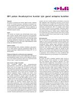 BFI yukarı Avusturya`nın kurslar için genel anlaşma kuralları