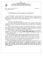 4924 sözleşmeli personel komisyon kararı ve ek