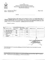 Klima Filtre - Malatya İli Kamu Hastaneleri Birliği Genel Sekreterliği
