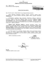 Güncel Muhasebe Yetkilisi Değişikliğine Dair 01.04.2015 tarihli ve