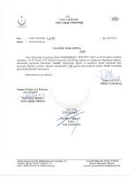 ı VAN vALİLiĞi - Van Halk Sağlığı Müdürlüğü