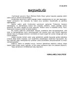 Yargı Şehidimiz İstanbul Cumhuriyet Savcısı Mehmet Selim KİRAZ