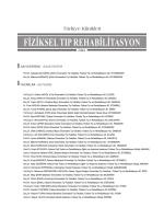 Sayı Yazarları - Türkiye Klinikleri