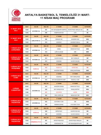 31 Mart - 11 Nisan Maç Programı.pdf