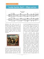 Coriolan Uvertürü, Op.62 – Allegro con brio