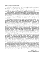 """KARATE-DO VE EĞİTİMDEKİ ÖNEMİ: Genel olarak """"Silahsız"""