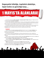 BDSP`nin 1 Mayıs bildirisini indirmek için tıklayın
