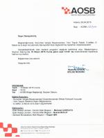 AOSB Bölge Başkanlığımızın organize edeceği Kurumlar Vergisi