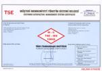 TS ISO 10002:2006 Belgemiz