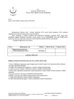 Konu: Kati Teklif verıneye davet (2015/93)