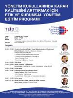 İndir - TKYD - Türkiye Kurumsal Yönetim Derneği