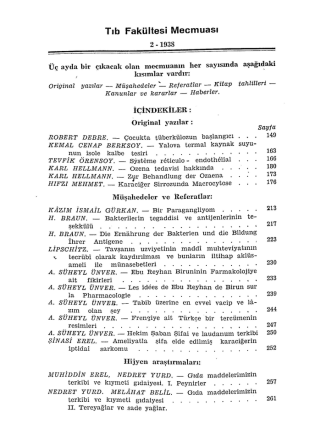 1938cilt1sayı2 - İstanbul Tıp Fakültesi