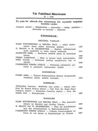 1940cilt3sayı12 - İstanbul Tıp Fakültesi
