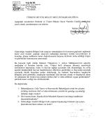 istanbul mv. melda onur`un gümrük ve ticaret bakanı`na yazılı sorusu