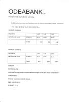 odea bank kredi fırsatı
