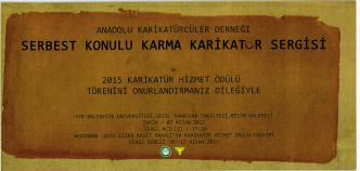 Anadolu Karikatürcüler Derneği Sergisi 07.04.2015 tarihinde