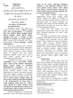 İslam`da Fetih Ruhu - Erzurum İl Müftülüğü