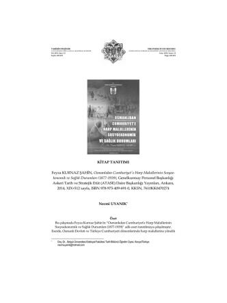449‐457 KİTAP TANITIMI BOOK REVIEW