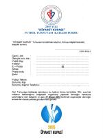 2015 vakıf kupası bılgı - Hollanda Diyanet Vakfı