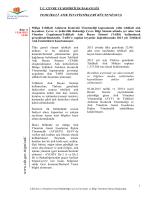 Tehlikeli Atık İstatistikleri Bülteni 2013