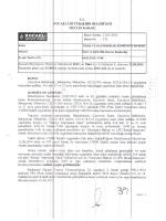 Meclis Karar Örneği - Çayırova Belediyesi